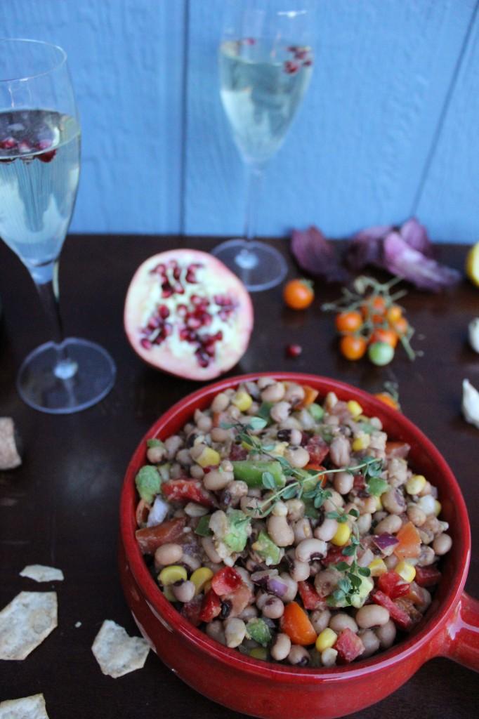 Black eye pea salad 054