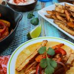 French Fry, Grilled Chicken Fajitas