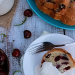 Cherry Vanilla Lime Pound Cake