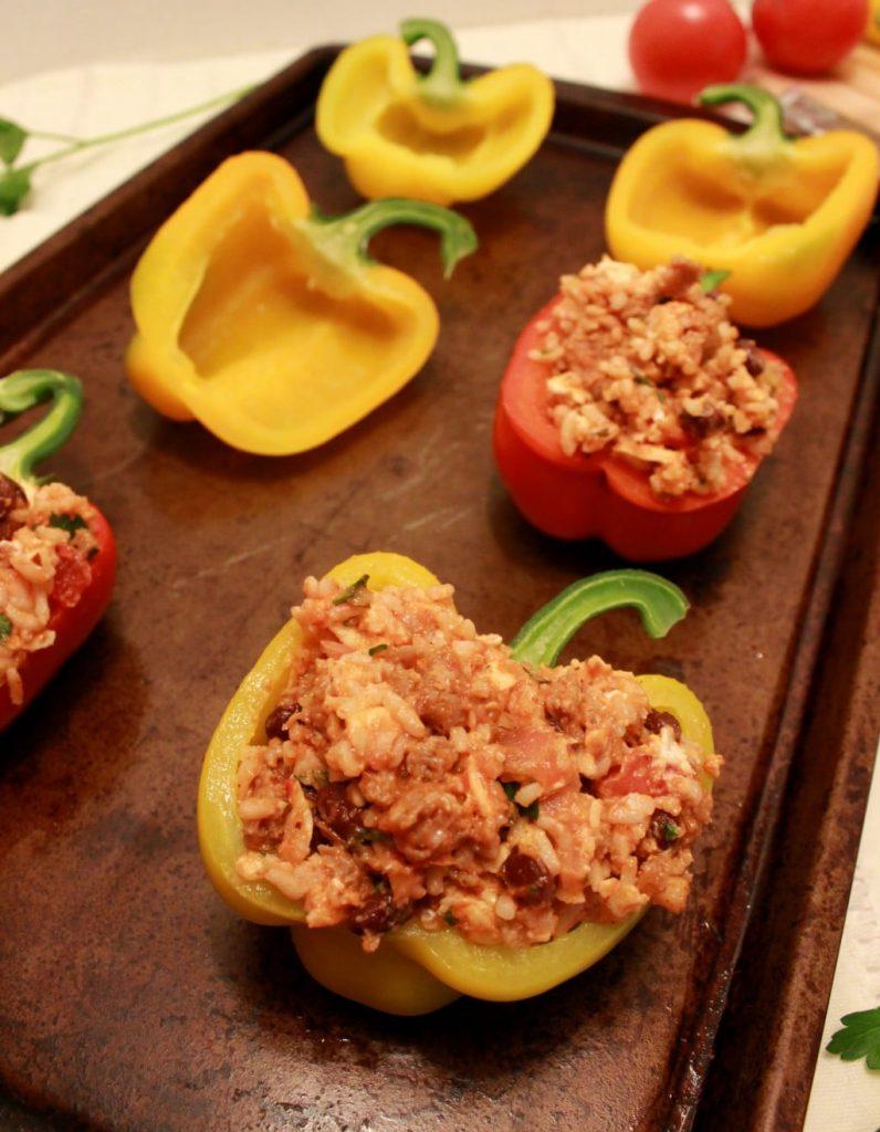 stuffed peppers 100new