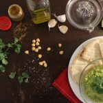 Curry Cilantro Hummus