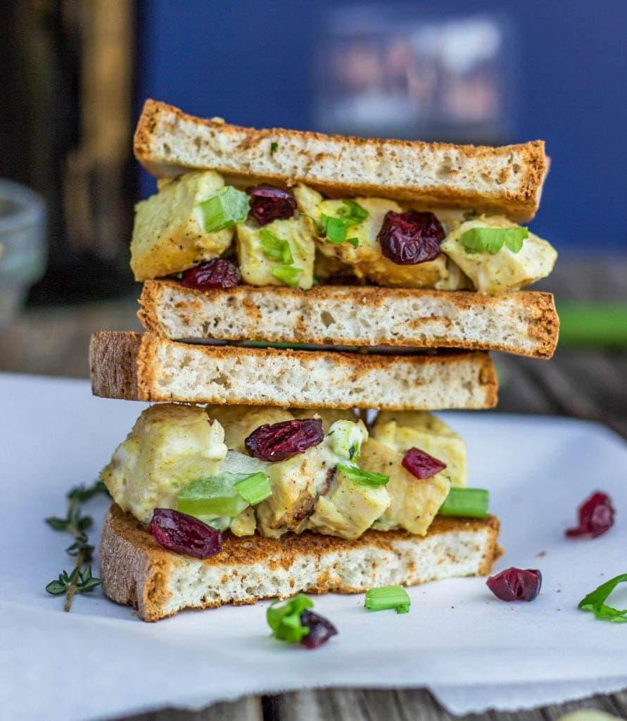 Chicken Salad Sandwich (2 of 2)