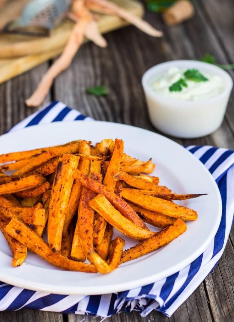 Sweet Potato Fries--9