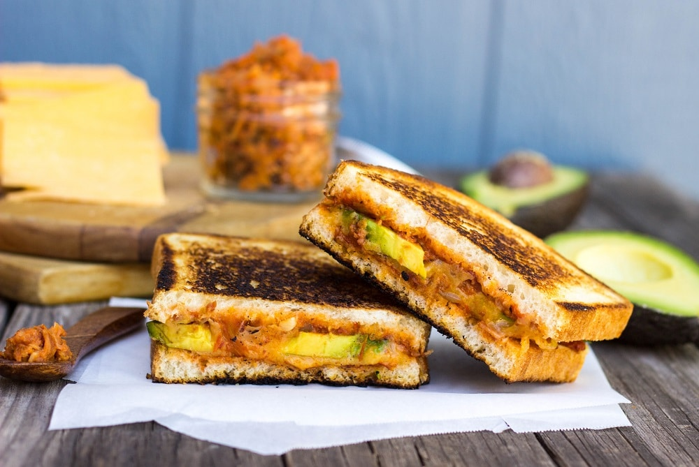 Bacon Jam And Avocado Grilled Cheese Sandwich Recipes ...