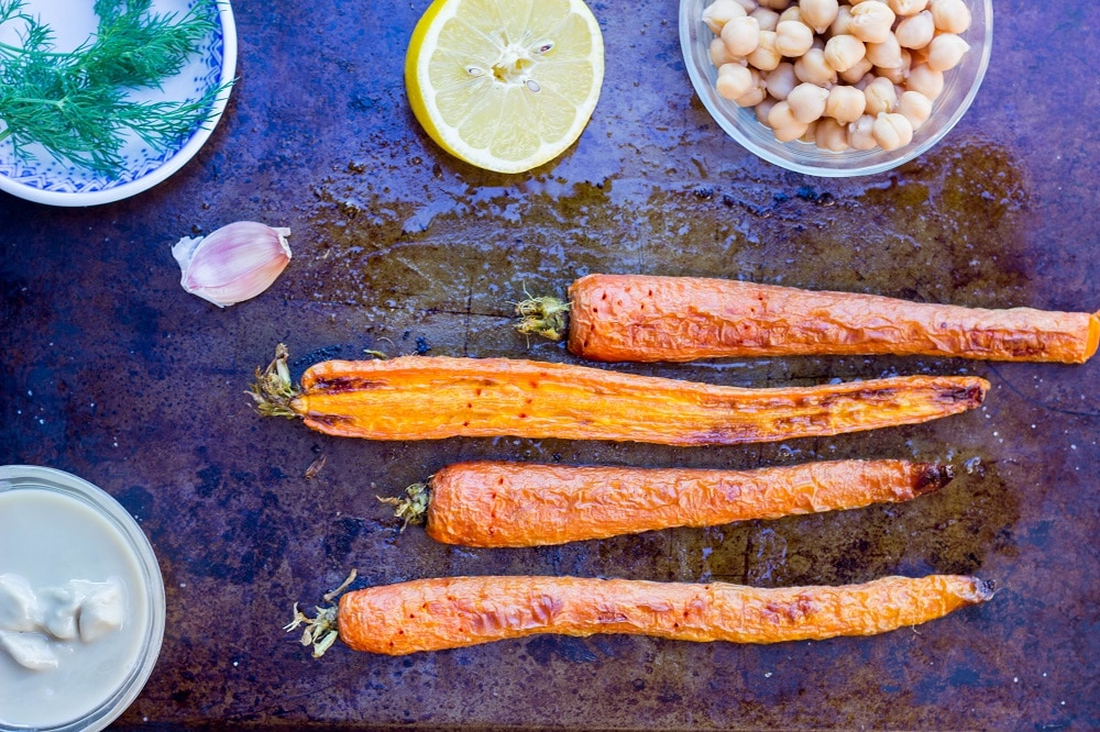Roasted Carrot & Dill Hummus-7771
