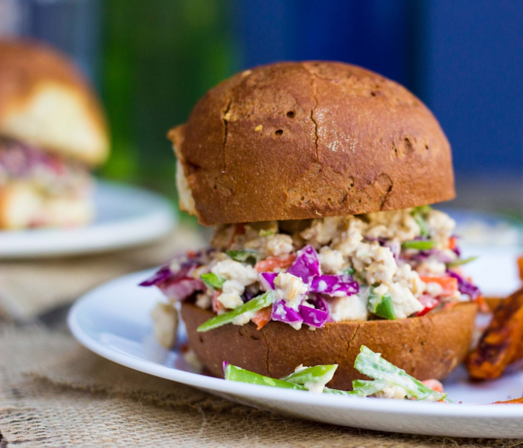 Asian Tofu Salad Sandwiches-9097