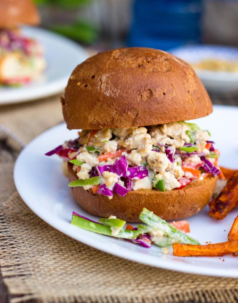 Asian Tofu Salad Sandwiches-9141