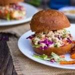 Asian Tofu Salad Sandwiches {gf+v}