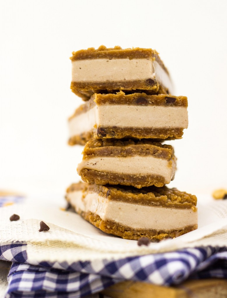 Peanut Butter & Banana Ice Cream Sandwiches-0484