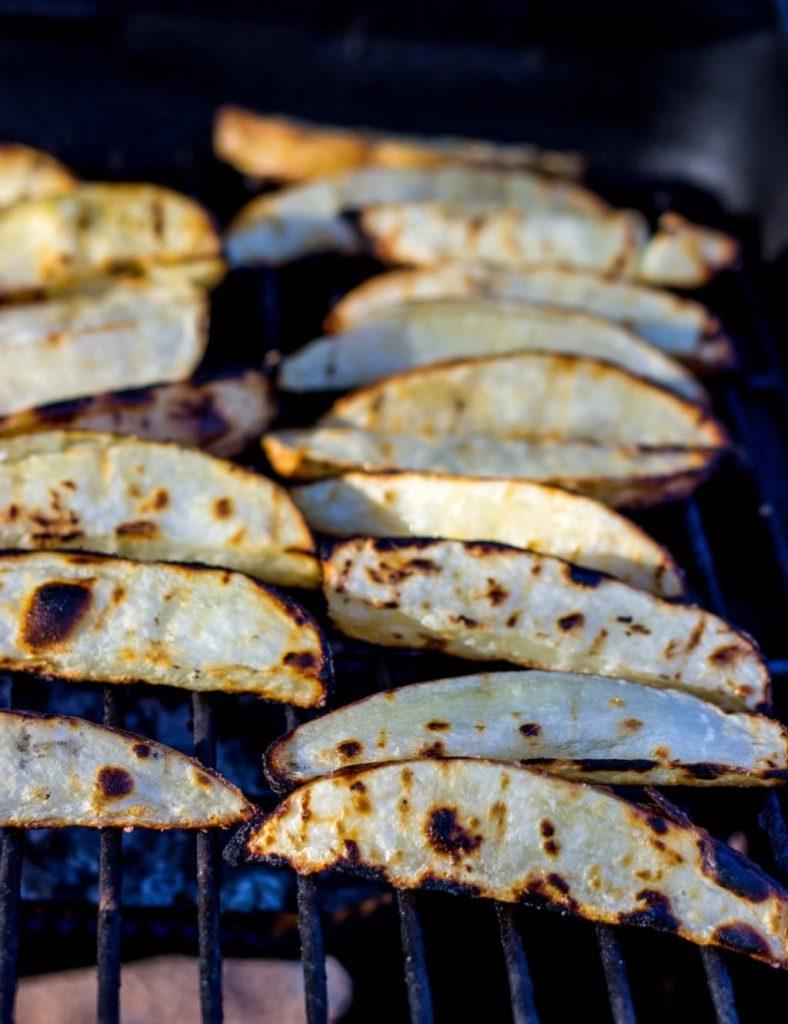 Salt & Vinegar Grilled Potato Wedges-0311