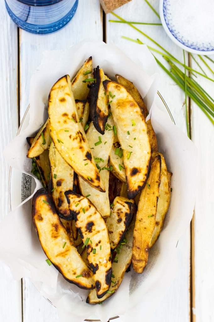 Balsamic-Roasted Sweet Potato Wedges