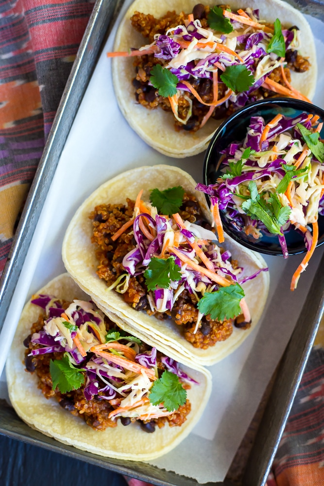 BBQ-Black-Bean-Quinoa-Tacos-with-Cilantro-Slaw-Main