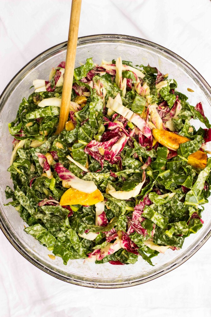 Kale, Radicchio, Roasted Potato & Chickpea Salad with a Creamy Grilled Lemon Vinaigrette-1048