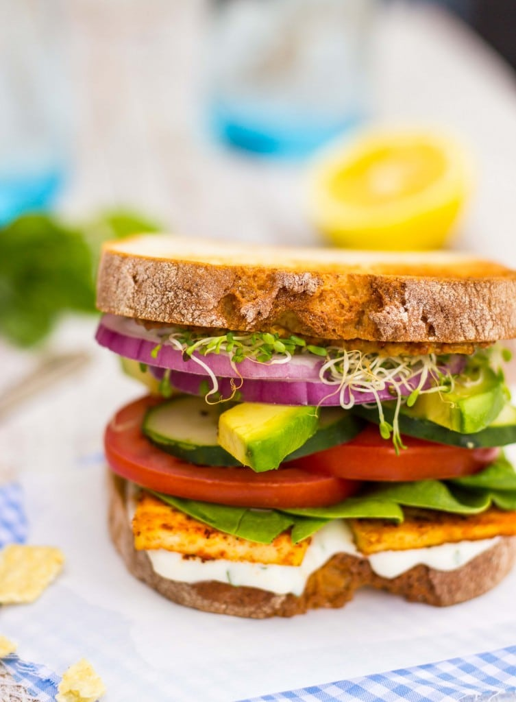 Ultimate Veggie Sandwiches with Smokey Tofu & Lemon Basil Mayo-1368