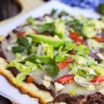 Hatch Green Chili Mexican Pizza