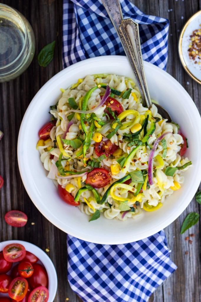 Summer Vegetable Pasta Salad-4152