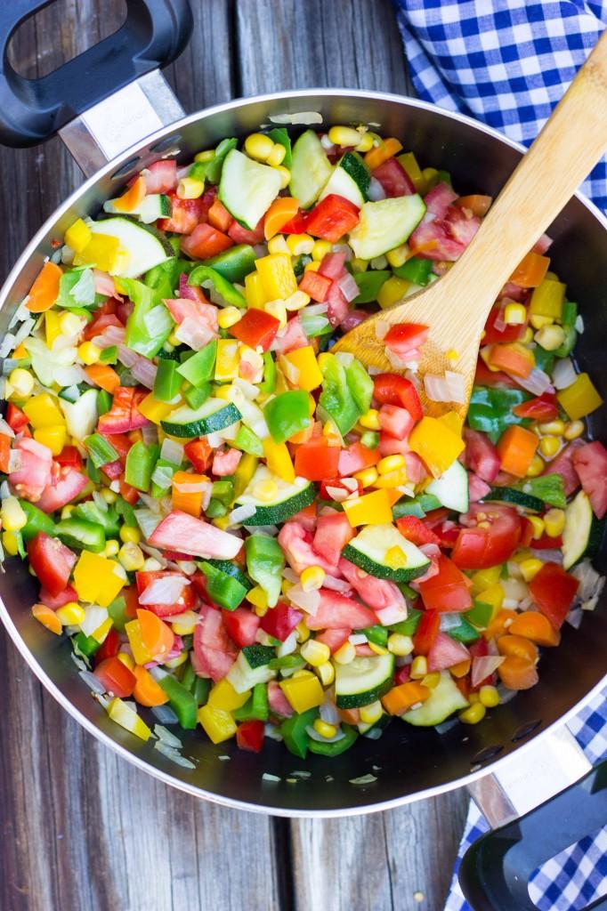 Three Bean Loaded Veggie Chili-4442