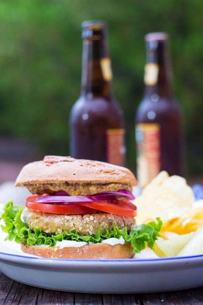 Vegan -Chicken- Patty Sandwiches-4647
