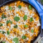 Veggie Enchiladas with Pumpkin Enchilada Sauce {gluten free + vegan}