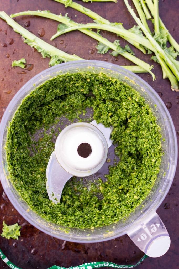 Sorghum, Sweet Potato & White Bean Salad with Kale Pesto-2