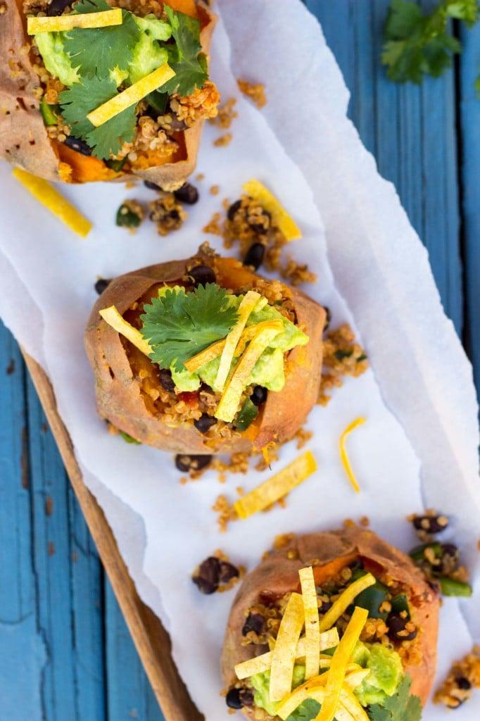 Tex Mex Loaded Sweet Potatoes-5910