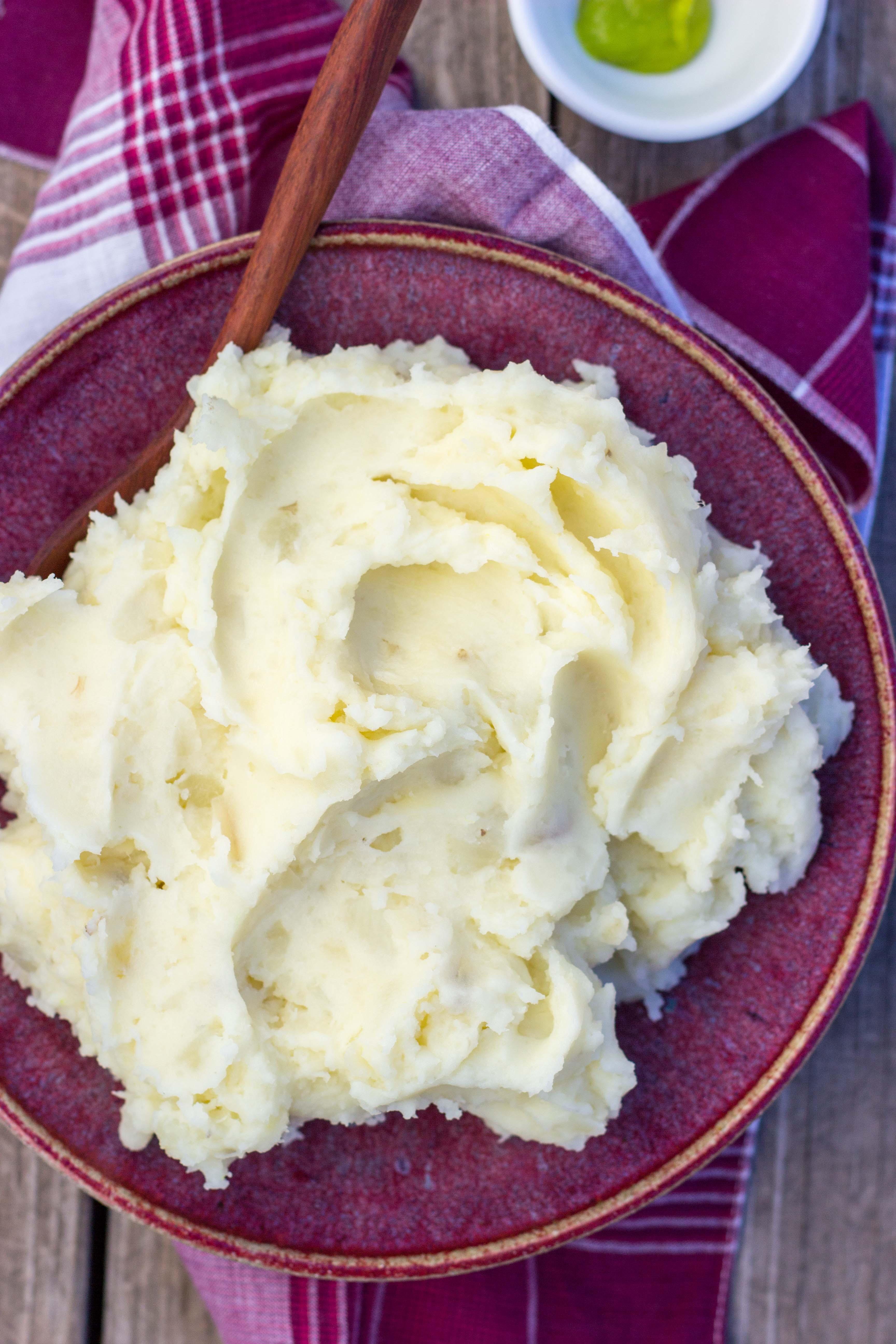 Parmesan Wasabi Mashed Potatoes - She Likes Food