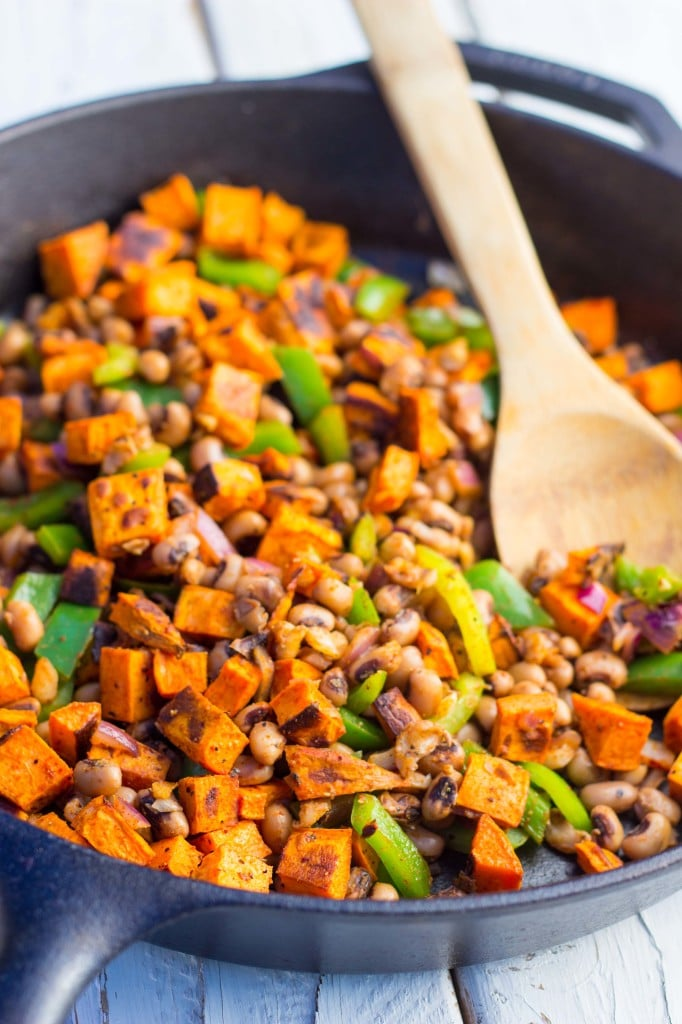 Black Eyed Pea and Sweet Potato Tacos-8075