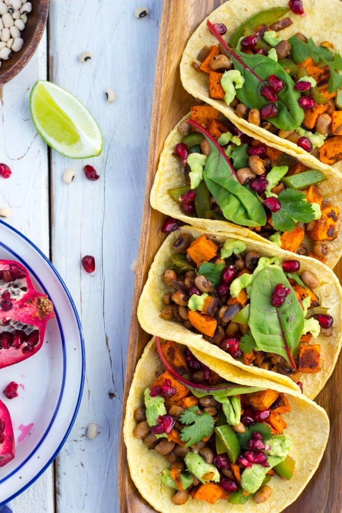 Black Eyed Pea and Sweet Potato Tacos-8111