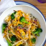 Butternut Squash & Broccoli Pasta with Sage