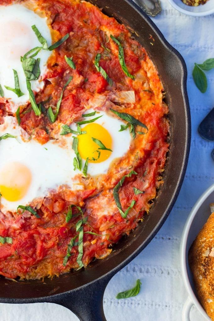 Eggs In Purgatory With Spaghetti Squash-6911