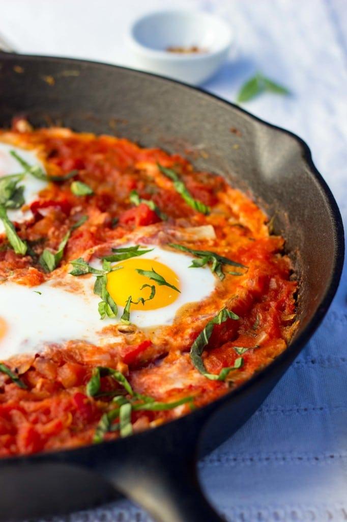 Eggs In Purgatory With Spaghetti Squash-6919