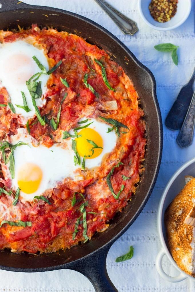 Eggs In Purgatory With Spaghetti Squash-6931