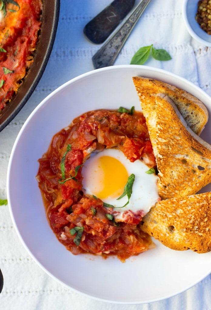 Eggs In Purgatory With Spaghetti Squash-6940