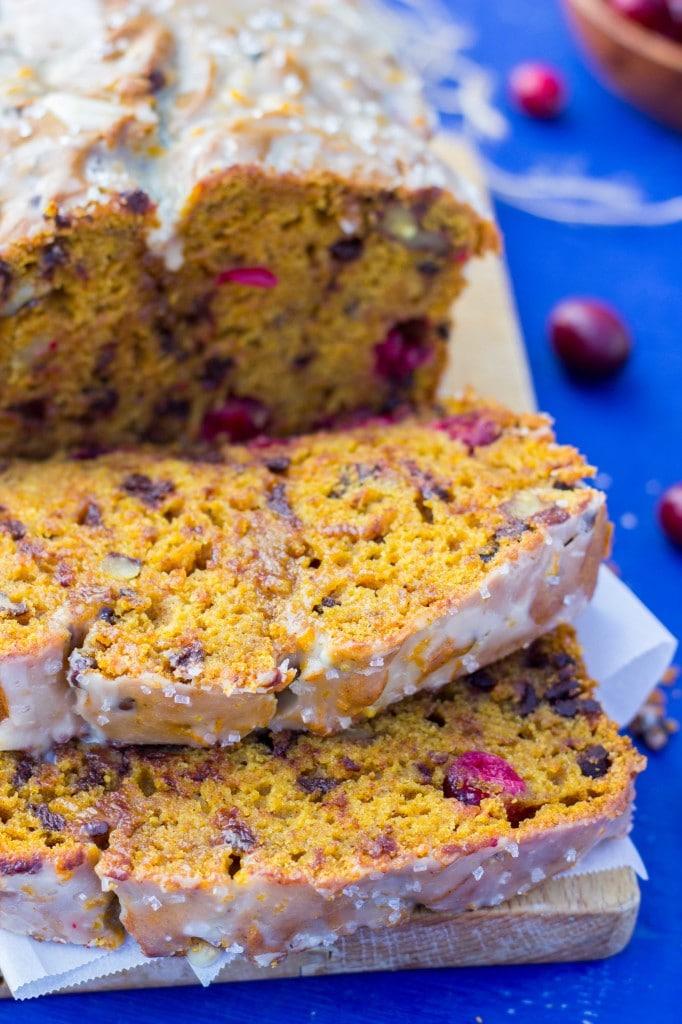 Super Moist Gluten Free Loaded Pumpkin Bread-7595