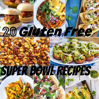20 Gluten Free Super Bowl Recipes