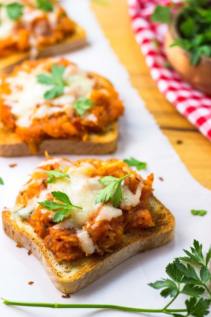Cheesy Spaghetti Squash Melts-8406