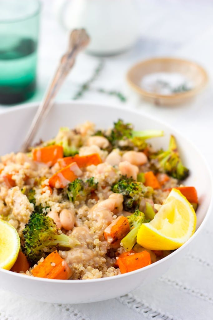 Roasted Sweet Potato & Broccoli Winter Bowls-8570