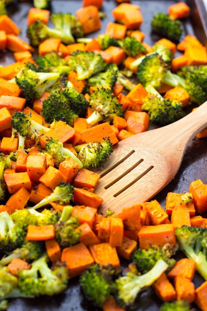 Roated Broccoli & Sweet Potato Winter Bowls-8516