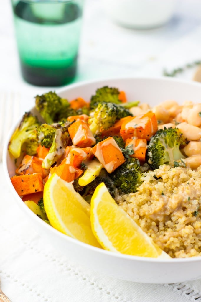 Roated Broccoli & Sweet Potato Winter Bowls-8526