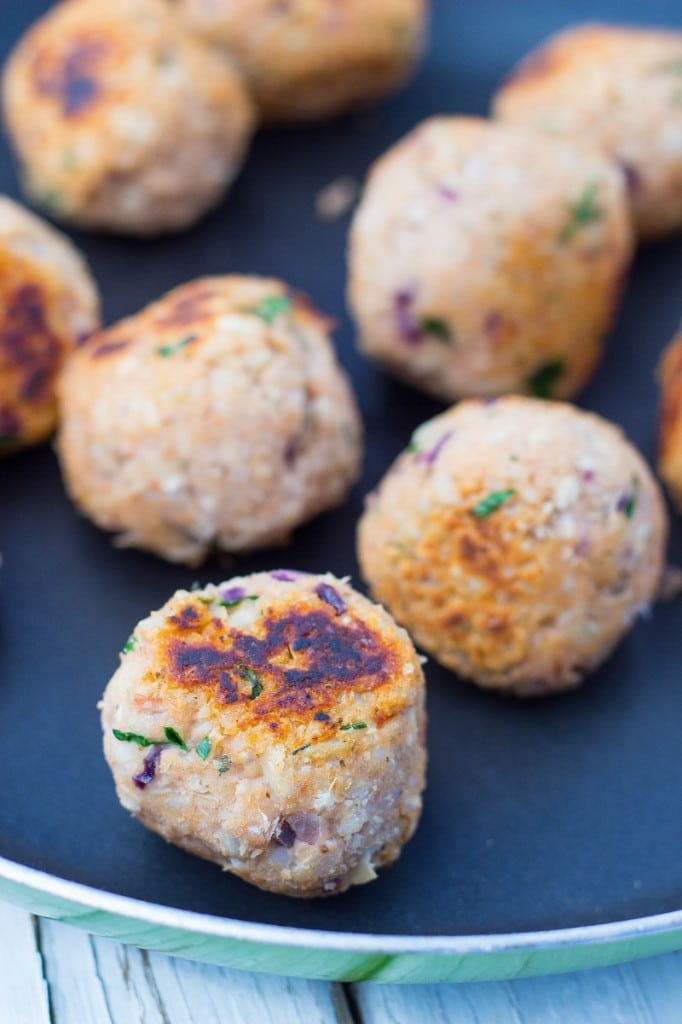Vegetarian Meatballs with Spaghetti Squash-0208