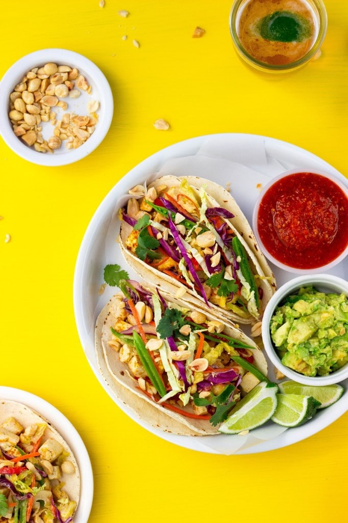 Citrus & Miso Marinated Tofu Tacos3