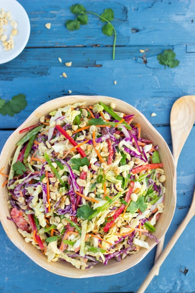 Creamy Rainbow Asian Slaw-2348