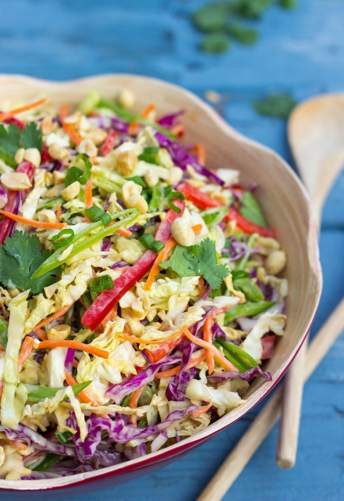 Creamy Rainbow Asian Slaw-2394