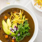 Smokey Sweet Potato and Black Bean Soup