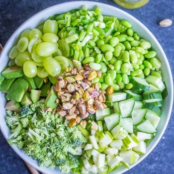 The Greenest Chopped Salad