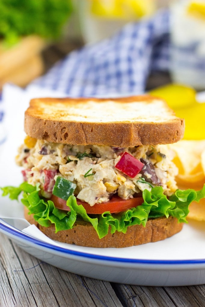 Greek Chickpea Salad Sandwiches-3013