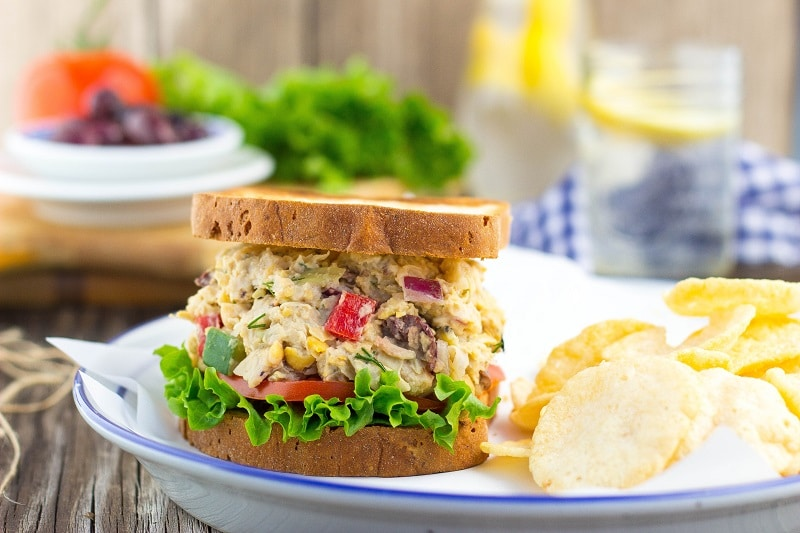 Greek Chickpea Salad Sandwiches-3085