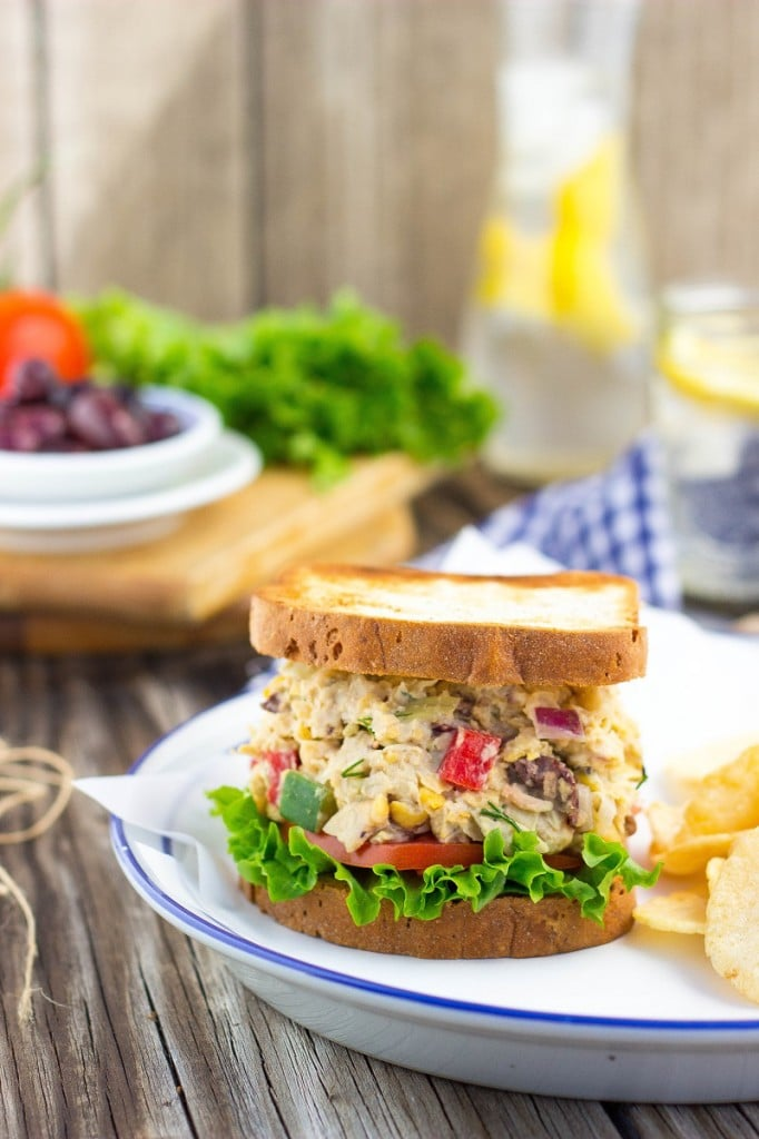 Greek Chickpea Salad Sandwiches-3087