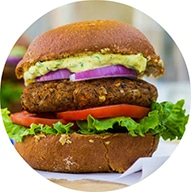 Smokey-Sweet-Potato-Black-Bean-Brown-Rice-Veggie-Burgers-with-Curry-Cilantro-Mayo-9982-1024x682