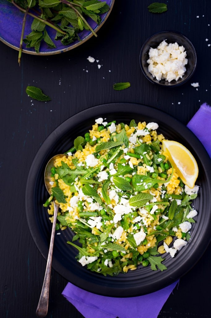 Spring Orzo Salad with Peas and Asparagus-5044